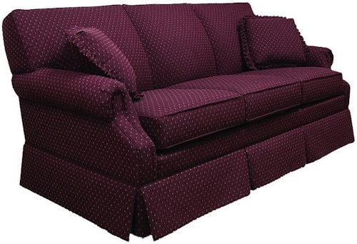 Lancer 650 Traditional Full Sleeper Sofa with Rolled Arms