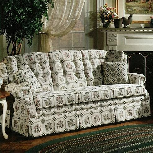 Lancer 840 Country Style Sofa With Skirt