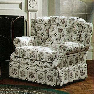 Lancer 840 Country Style Upholstered Armchair