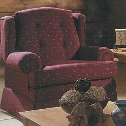 Lancer 9800 Traditional Upholstered Armchair