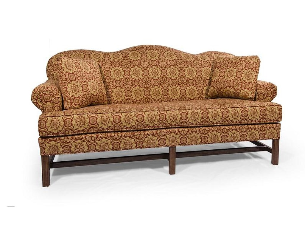 Lancer HomeSpun High Back Sofa with Rolled Arms | Wayside ...