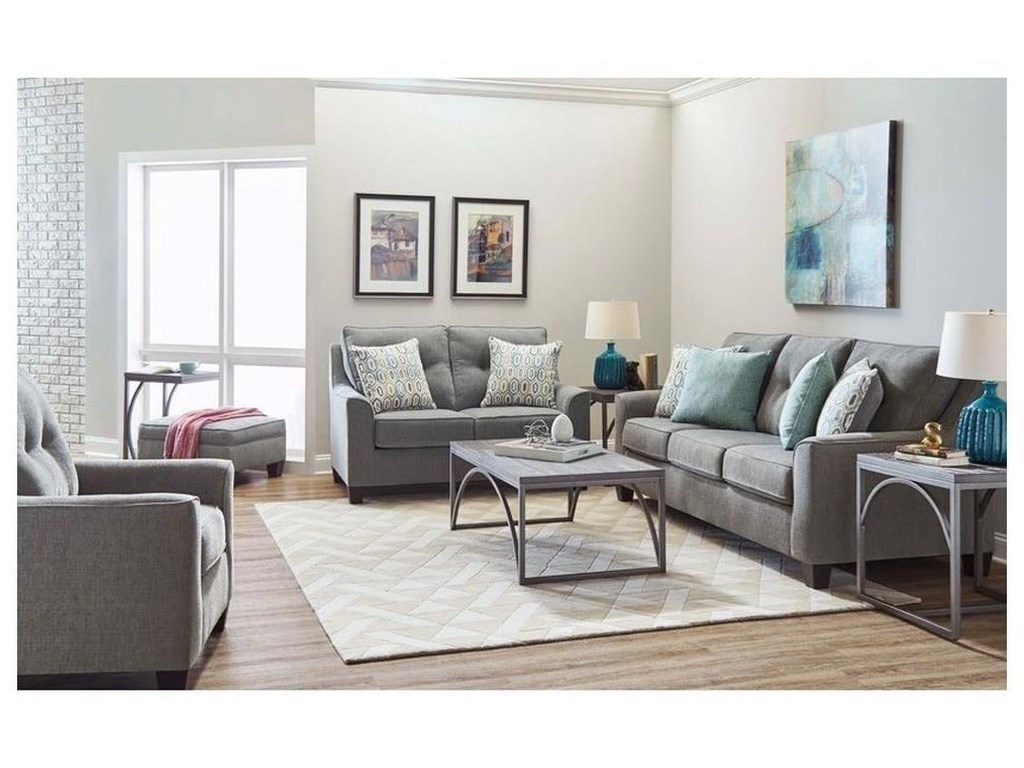Lane 2019Sofa, Loveseat, Chair and Ottoman Set