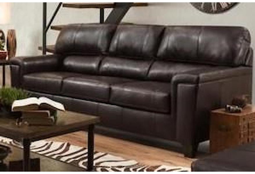 Lane 2038 2038sbark Leather Sofa