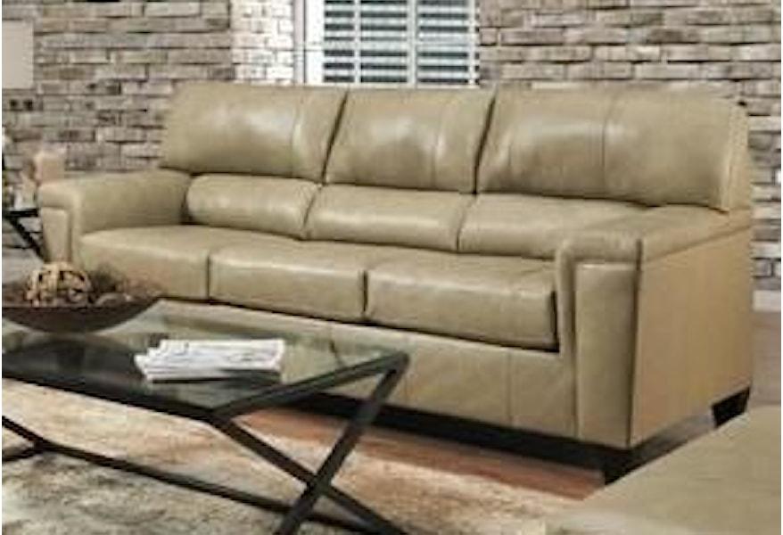 Lane 2038 2038sputty Leather Sofa