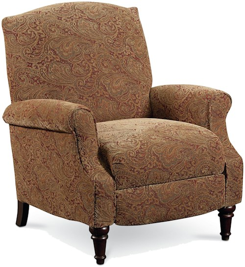 Lane Express Chloe Chloe Hi-Leg Recliner with Rolled Arms and Wing Back