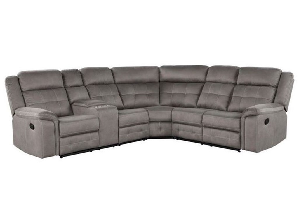 Lane 59933Reclining Sectional