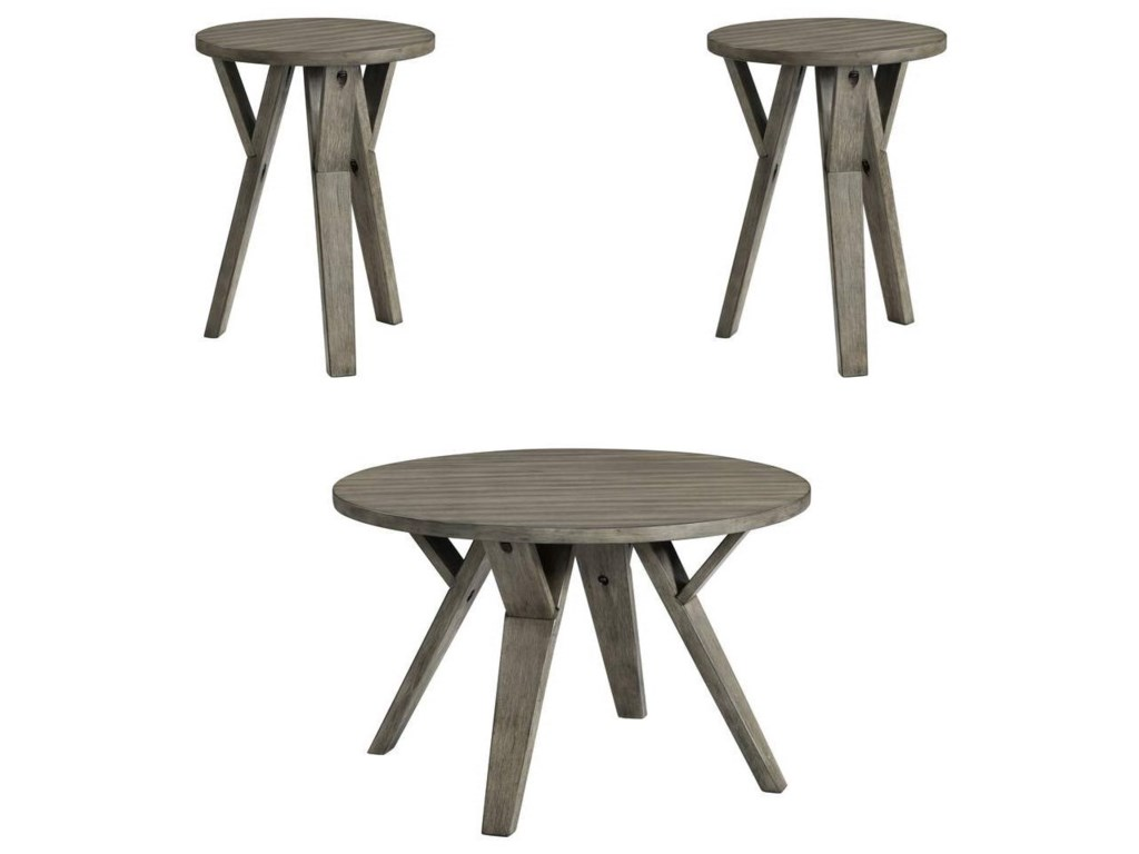 Lane 7642Cocktail and End Table Set