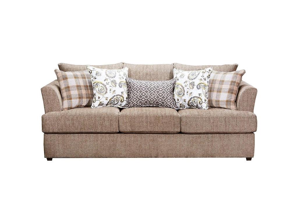 Lane 8009Stationary Sofa