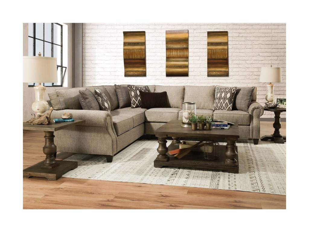 Lane 80102-Piece Sectional