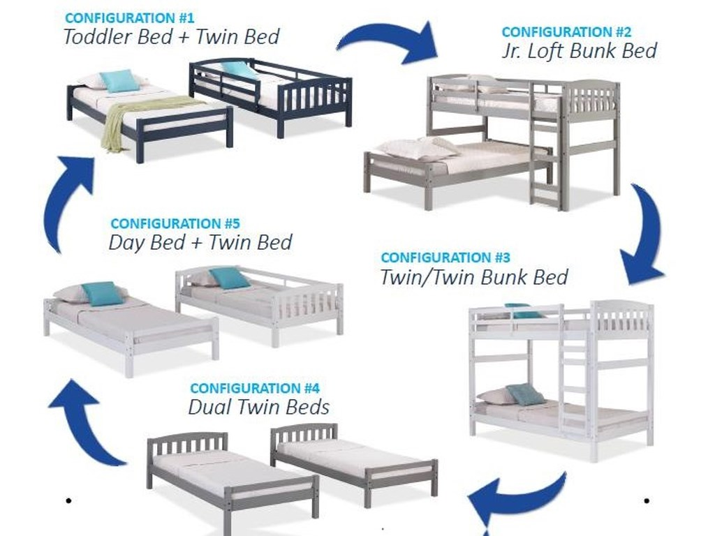 Hawthorne Hill AdaptablesAdaptables Twin Youth Bed