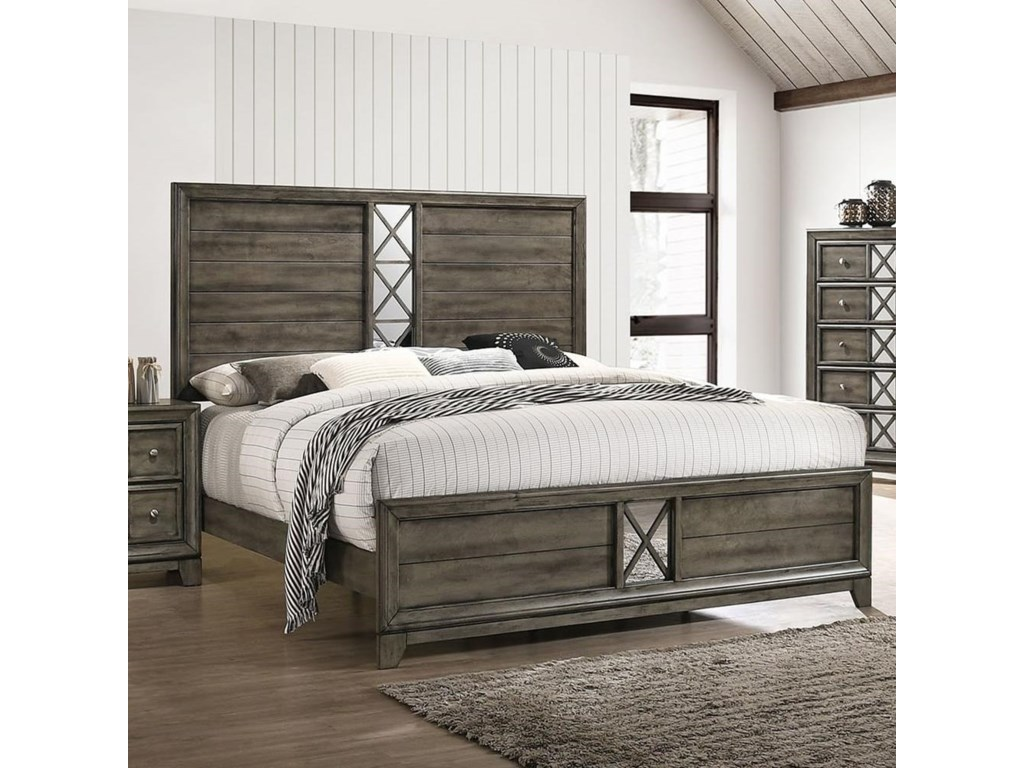 Lane Addison California King Low Profile Bed