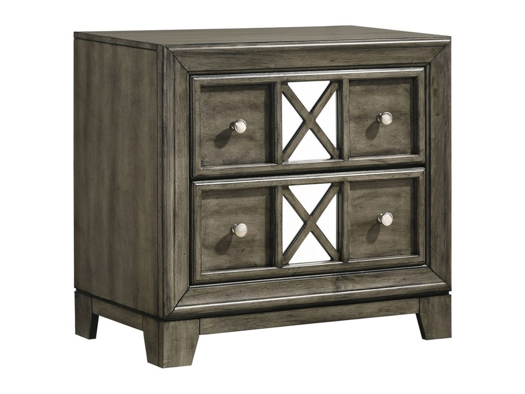 Lane Addison 2-Drawer Nightstand