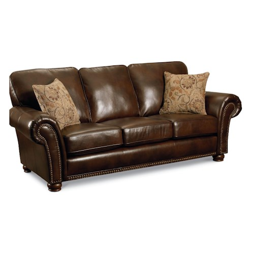 Lane benson 630 sofa sleeper with nailhead trim lindy 39 s for Furniture 500 companies