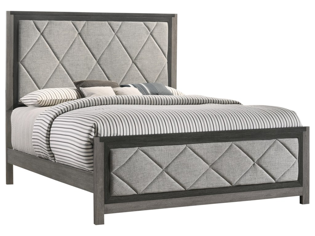 Lane Home Furnishings CarterQueen Upholstery Bed