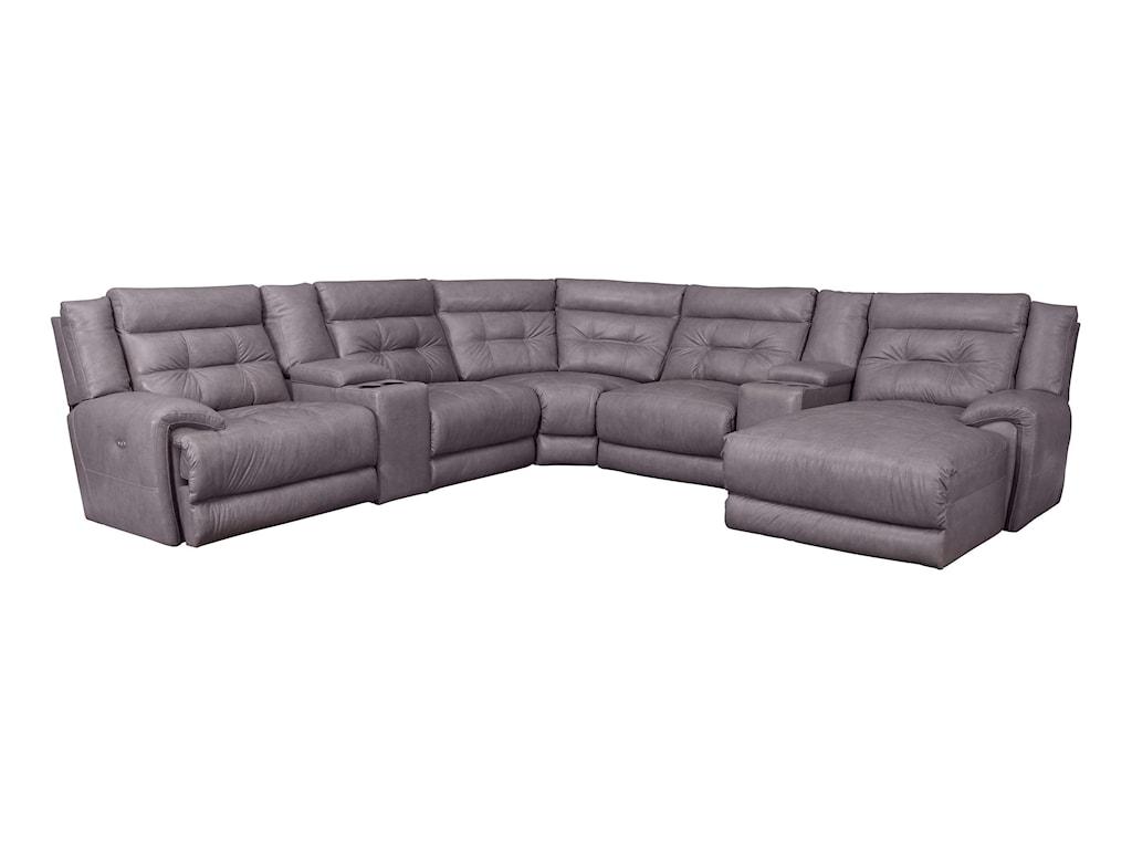 Lane Corsicareclining Sectional Sofa