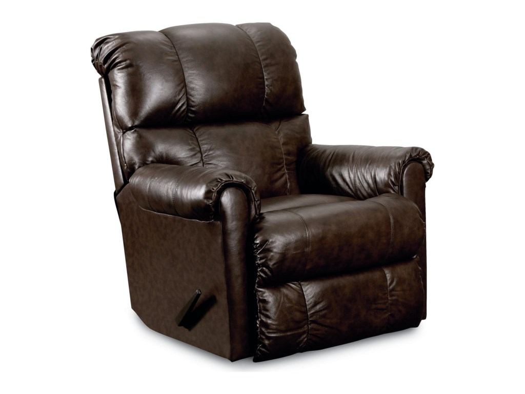 Lane EurekaCasual Pad-Over-Chaise Wallsaver Recliner