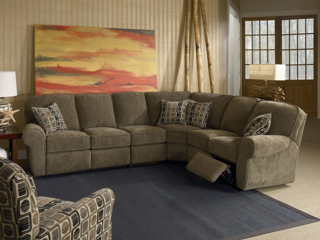 Lane MeganReclining Sectional Sofa
