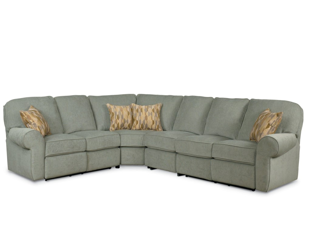 Lane Megan 4 Piece Sectional Sofa Darvin Furniture Reclining