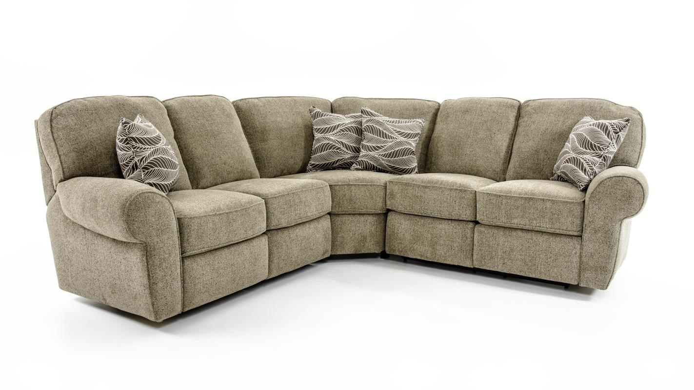 Lane Megan 3 Piece Sectional Sofa - Baeru0027s Furniture - Reclining Sectional Sofa  sc 1 st  Baeru0027s Furniture : lane megan sectional - Sectionals, Sofas & Couches
