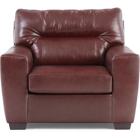 Noah Leather Match Chair