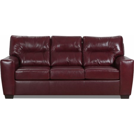 Noah Match Leather Sofa