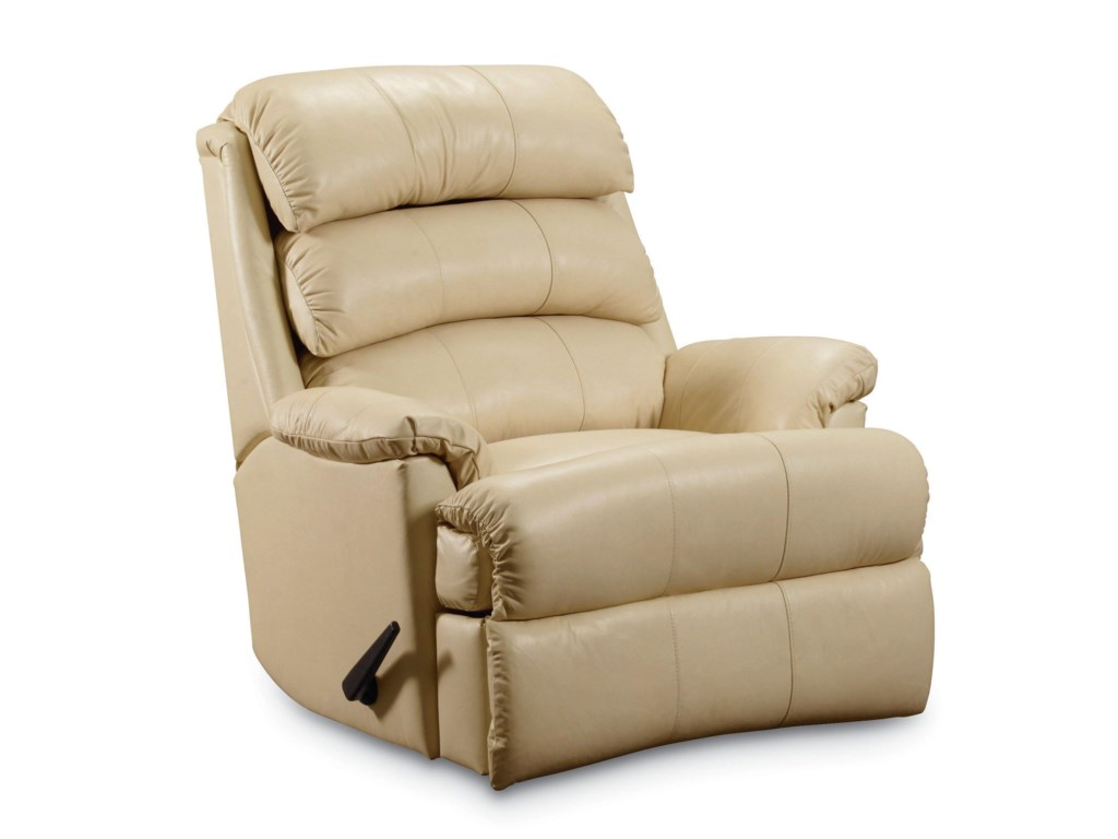 Lane ReviveCasual Pad-Over-Chaise Rocker Recliner