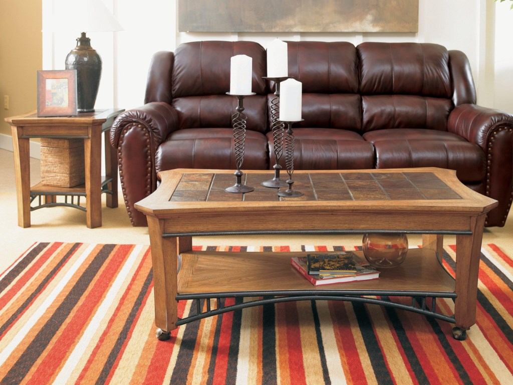 Lane SummerlinDouble Reclining Sofa
