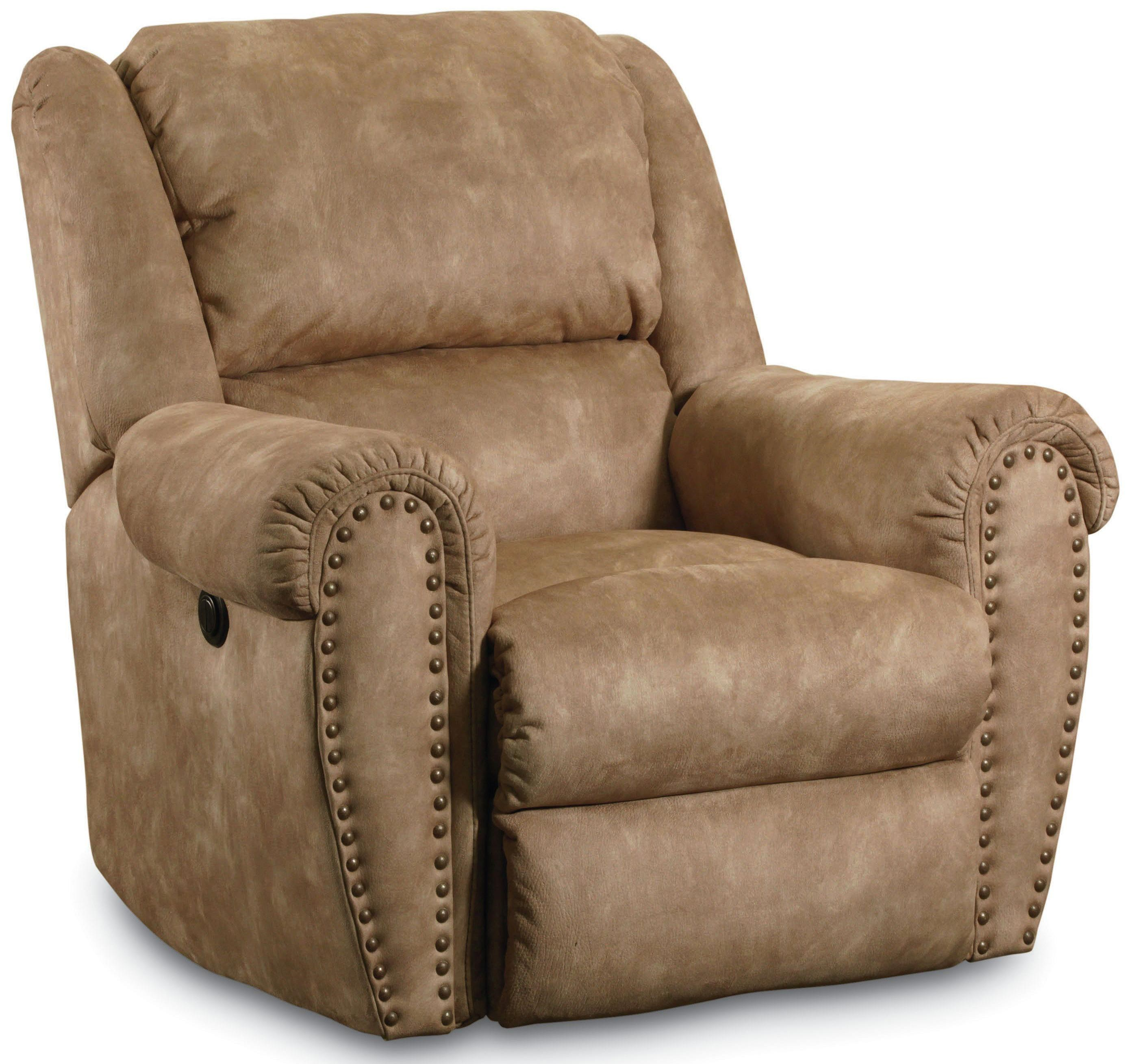 Lane Summerlin Traditional Rocker Recliner with Nail Head Trim Accents  sc 1 st  Lindyu0027s Furniture Company & Lane Summerlin Traditional Rocker Recliner with Nail Head Trim ... islam-shia.org