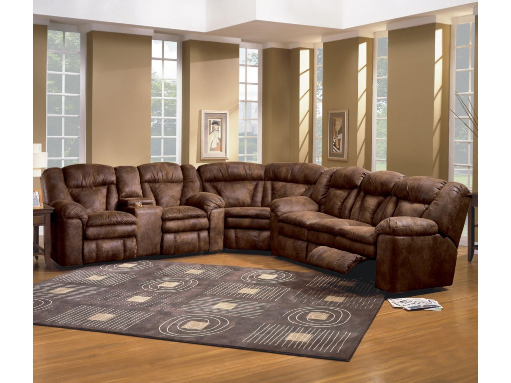 Shown as a Modular Component in Sectional Sofa Configuration. Sofa Shown May Not Represent Exact Features Indicated.