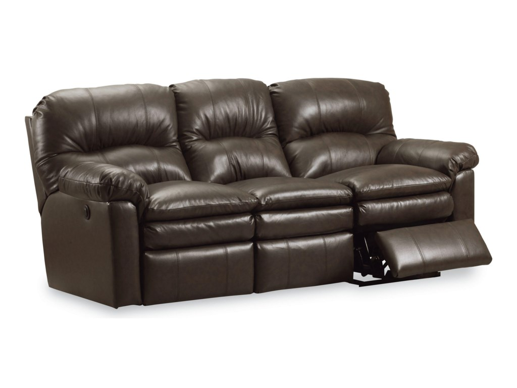Touchdown Leather Reclining Sofa by Lane Home Furnishings at Royal Furniture