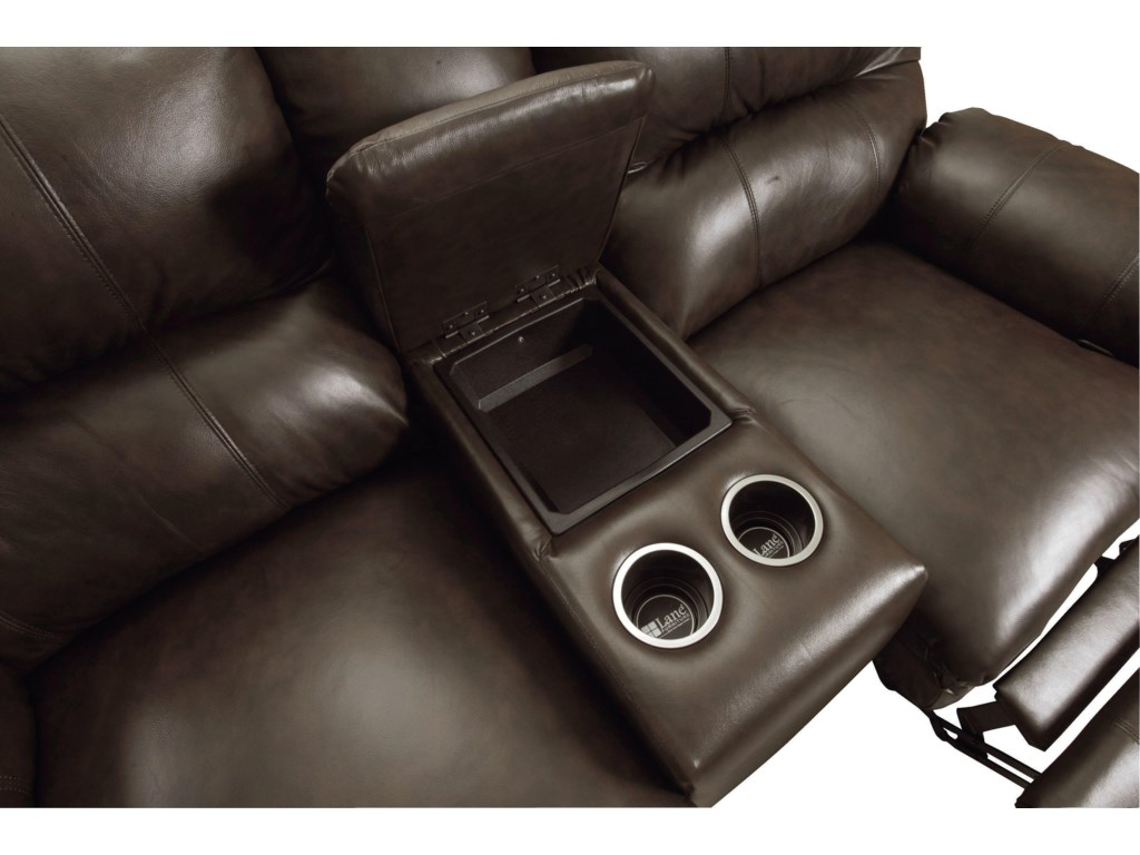 Built-in Cup Holder and Convenient Storage Compartment