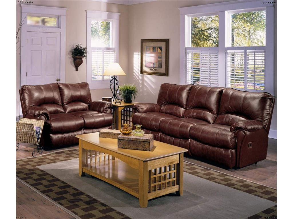 Lane AlpineDouble Rocking Reclining Loveseat