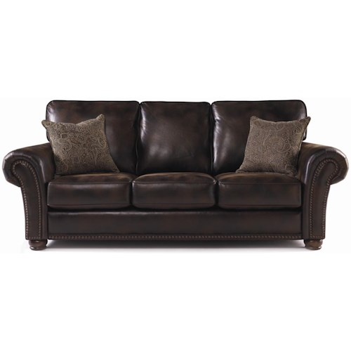 Lane Benson Sofa Sleeper With Nailhead Trim