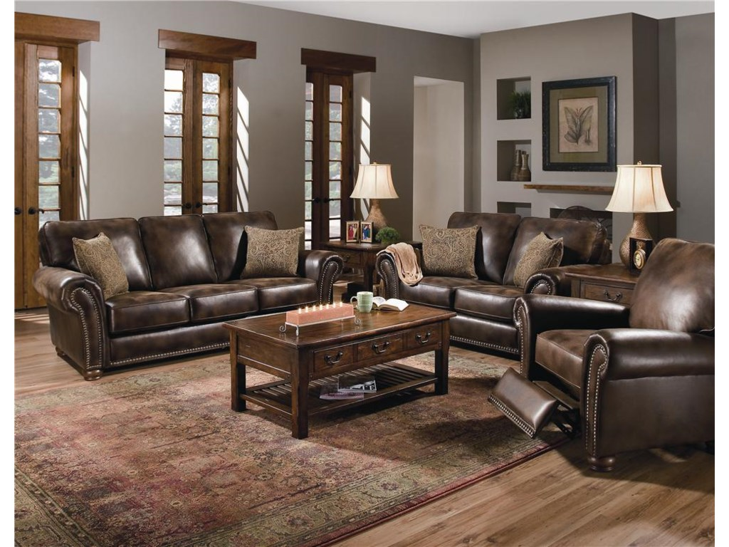 Shown with Stationary Loveseat and Recliner
