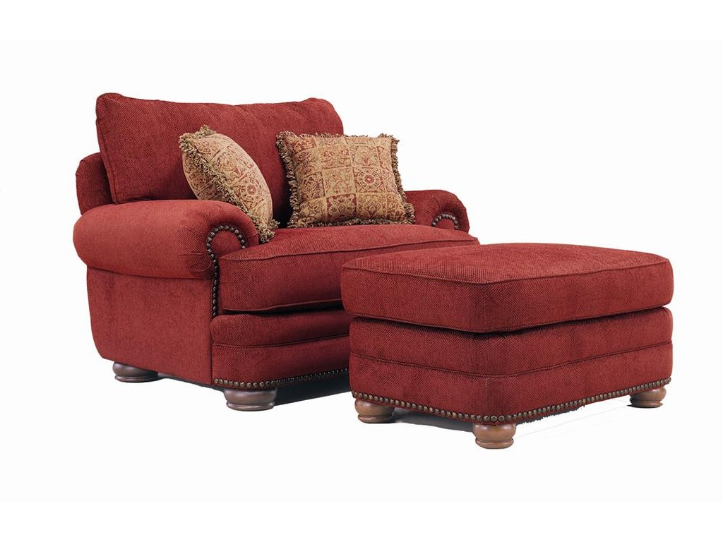 Lane StantonChair and Ottoman Set