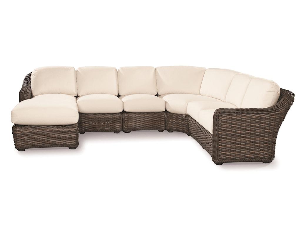 Lane Venture South Hampton Sectional Sofa