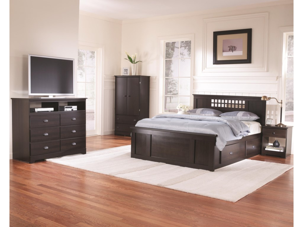 Lang BayfieldTwin Panel Captains Bed