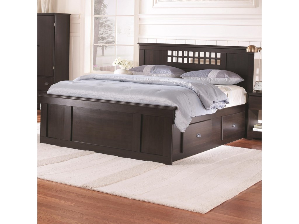 Lang BayfieldQueen Panel Captains Bed