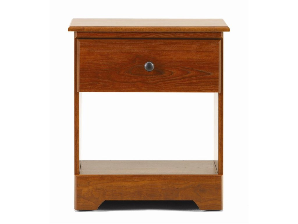 Lang Bayfield1 Drawer Nightstand with Roller Glides