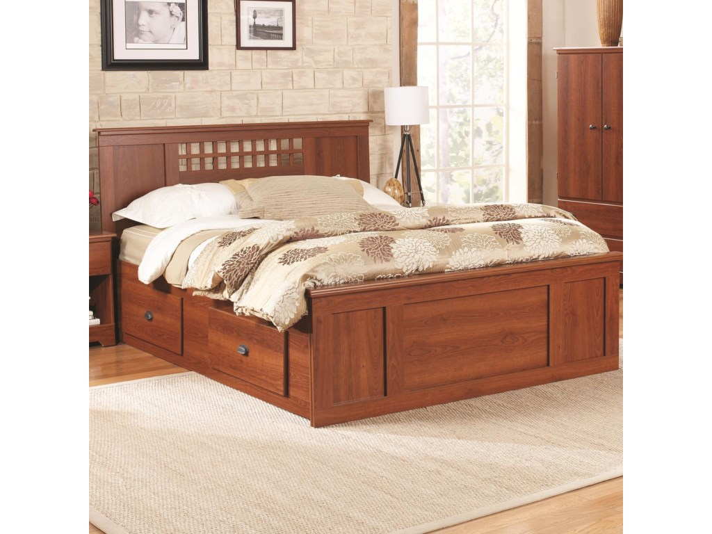 Lang BayfieldKing Panel Captains Bed
