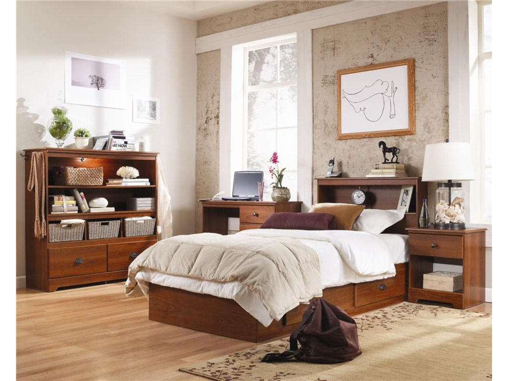Lang BayfieldTwin 2 Drawer Mates Bed with Roller Glides