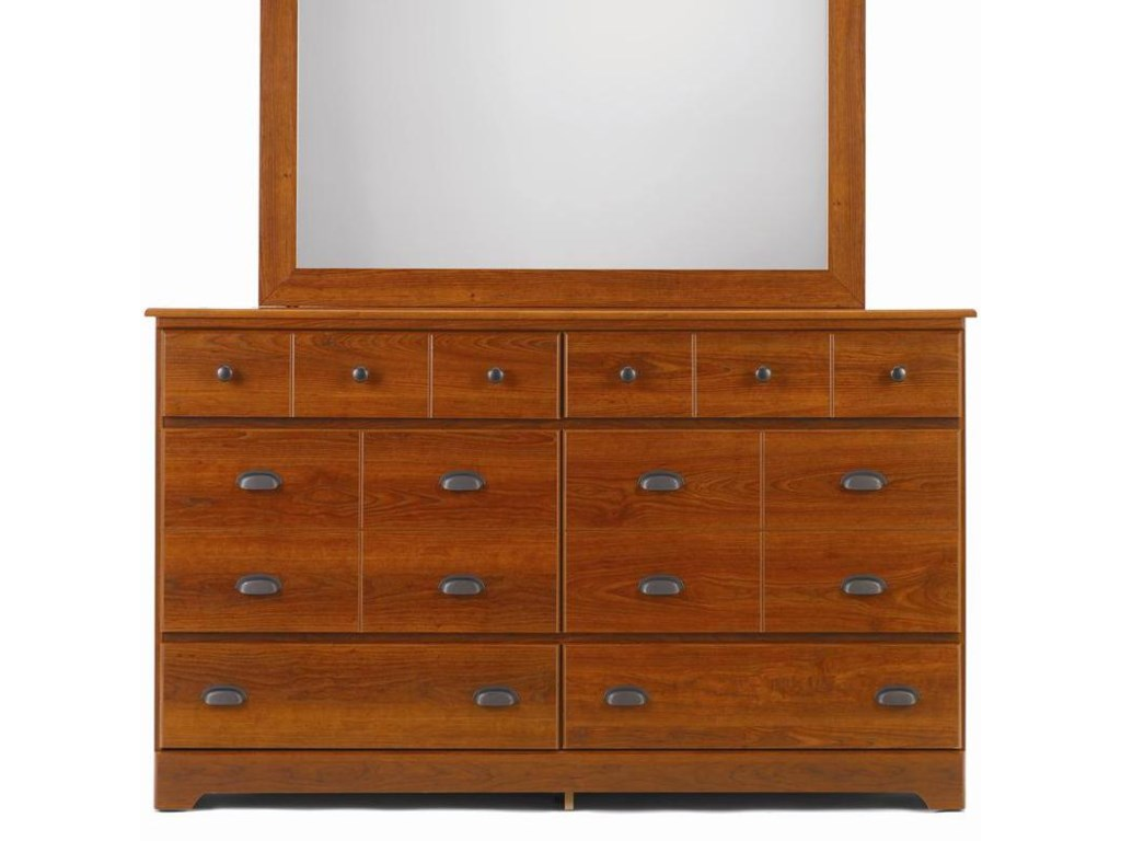 Lang Bayfield6 Drawer Dresser with Roller Glides