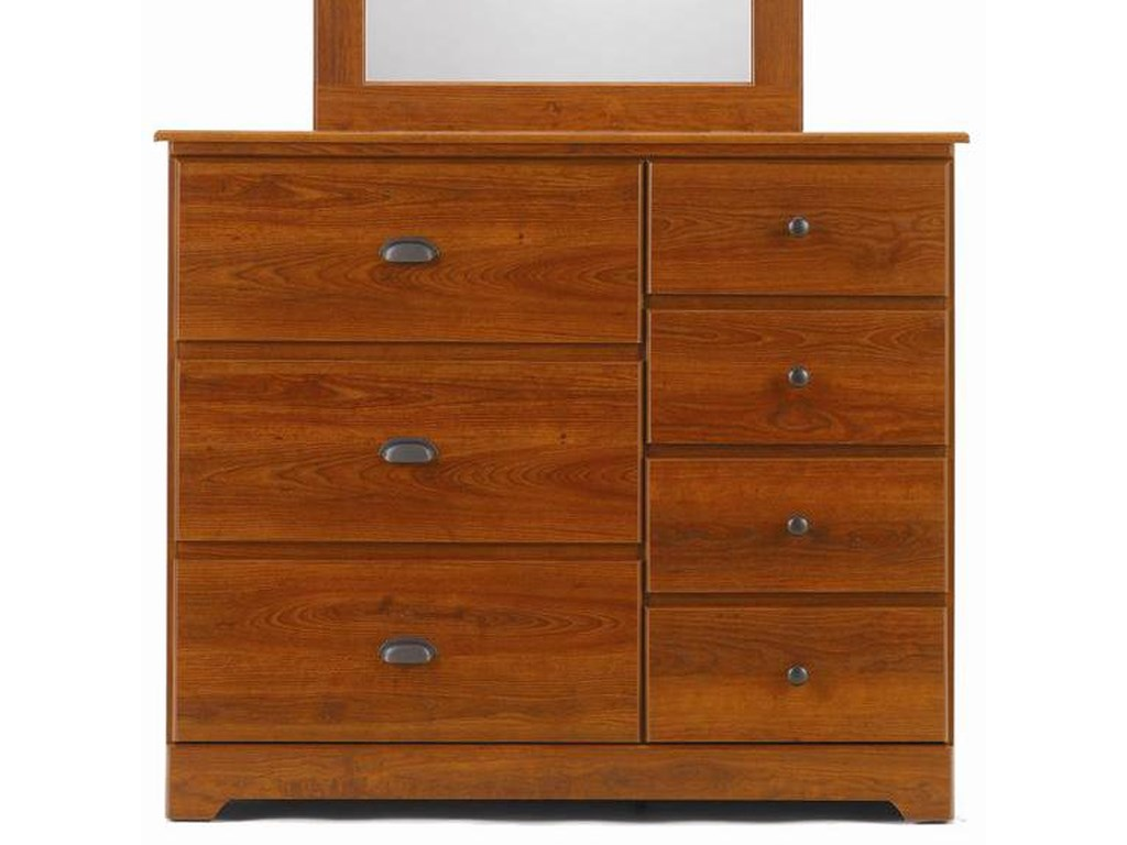 Lang Bayfield7 Drawer Dresser with Roller Glides