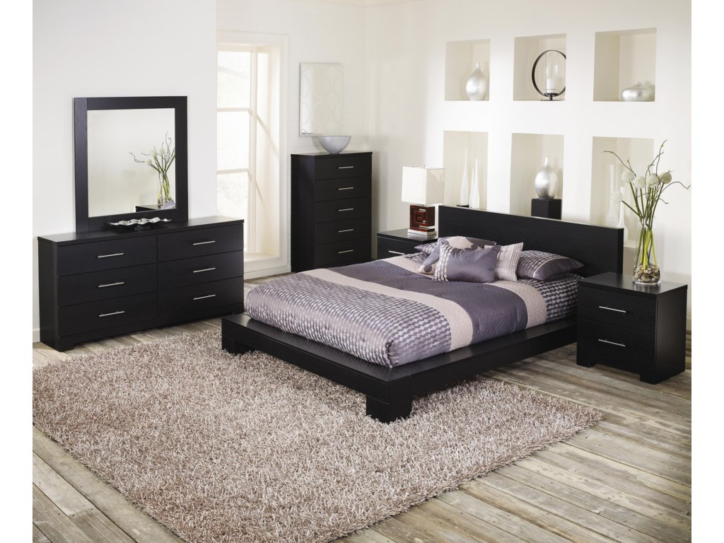 Lang BrooklynTwo Drawer Nightstand