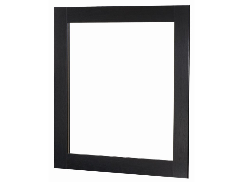 Lang BrooklynFramed Mirror with Supports