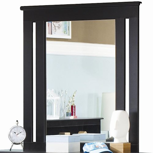 Lang Columbia Vertical Framed Dressing Mirror with Supports