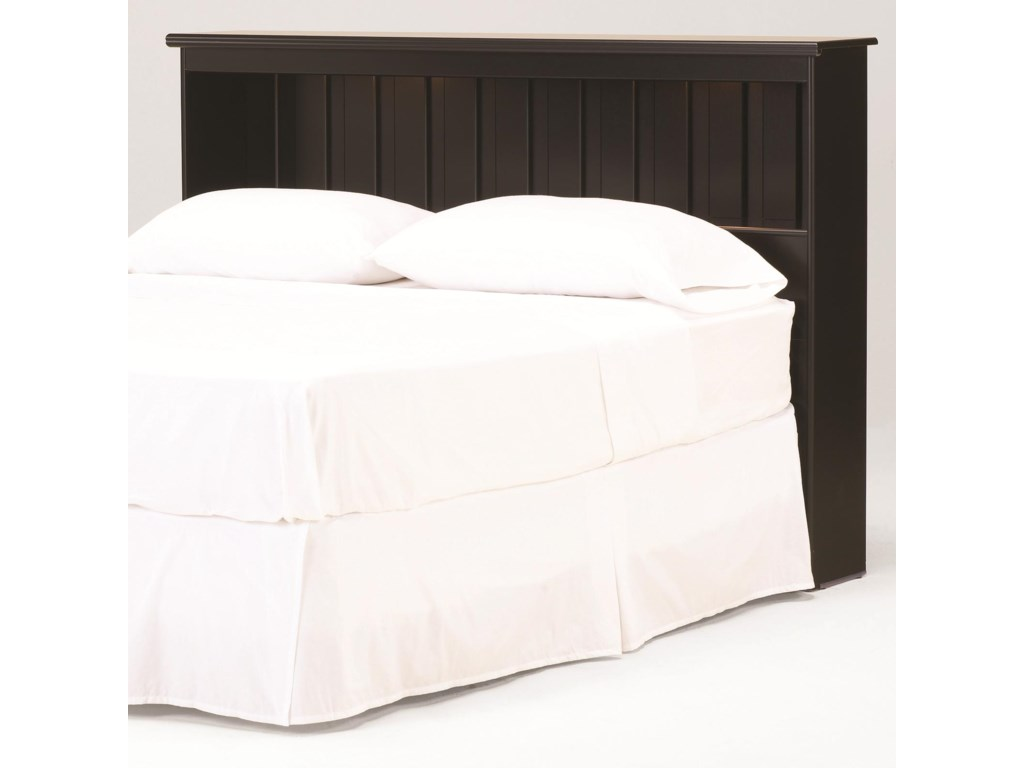 Lang ColumbiaFull/Queen Bookcase Headboard with Lights