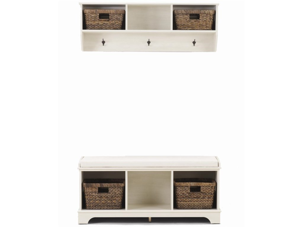 Lang HartlandEntry Bench with Accent Baskets