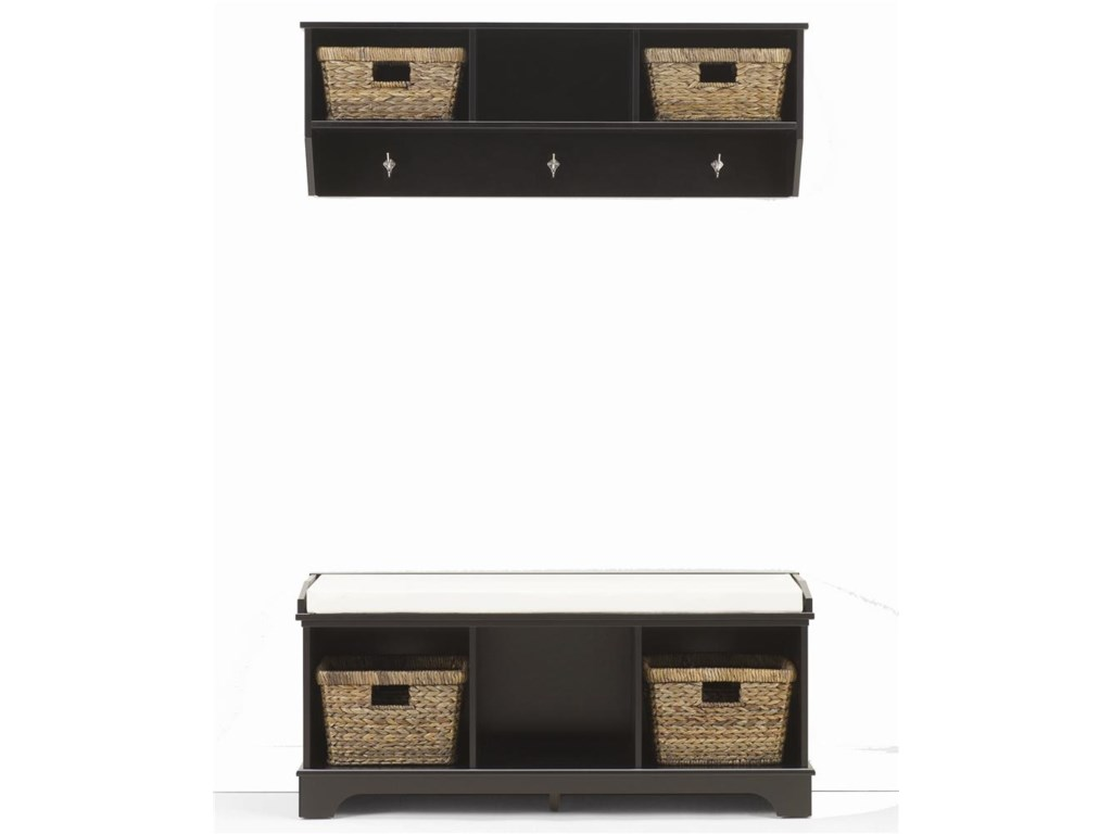Lang HartlandEntry Wall Shelf with Baskets