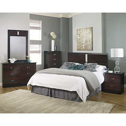 Lang Hurley Twin Bedroom Group